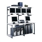 Mayline eLAN Computer Racking System - 72 LAN Station