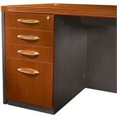 Mayline Aberdeen 4 Drawer Pedestal File for Desk