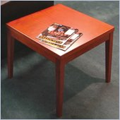 Mayline Mira End Table in Medium Cherry