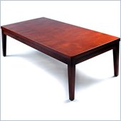 Mayline Mira Coffee Table in Medium Cherry