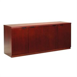 Mayline Luminary Series 4 Door Hinged Storage Credenza