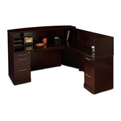 Mayline Sorrento Right L-Shaped Reception Desk
