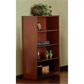 Mayline Stella 4-shelf bookcase in Toffee