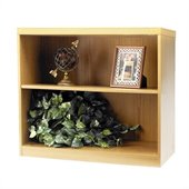 Mayline Aberdeen 3 Shelf Bookcase in Maple