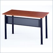 Mayline Encounter Rectangular Heavy Gauge Steel Table w/ Cherry Top