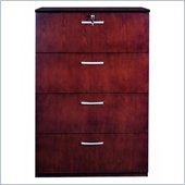 Mayline Napoli Collection 4 Wood File Storage Cabinet