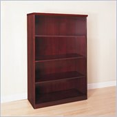 Mayline Luminary 68 H 4 Shelf Wood Bookcase in Cherry