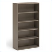 Mayline CSII 5 Shelf Metal Bookcase in Desert Sage