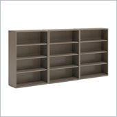 Mayline CSII 4 Shelf Metal Wall Bookcase in Desert Sage