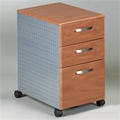 Mayline Eastwinds 3 Drawer Mobile Wood / Metal Filing Cabinet