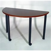 Mayline Encounter 48x24  Half Round Table