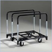 Mayline Talon Folding Table Cart w/ Caster Wheels