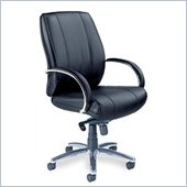 Mayline Mercado Optima Mid-Back Black Office Chair