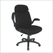 Mayline Comfort Big and Tall Metal and Plastic Pivot Arm Chair