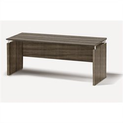Mayline Medina Credenza in Gray Steel