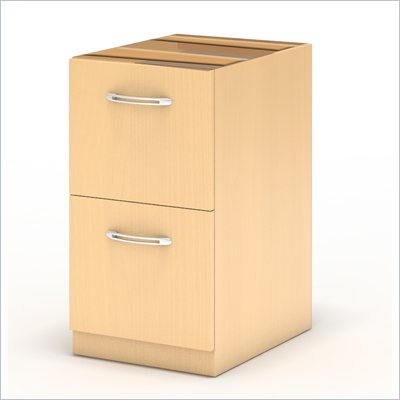 Mayline Aberdeen Desk File/File Pedestal in Maple