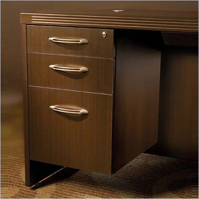 Mayline Aberdeen 3 Drawer Suspended Pedestal File