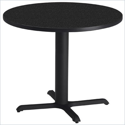 Mayline Bistro 30&quot; Round Casual Dining Table w/28&quot; High Base