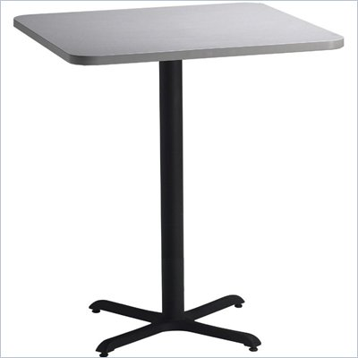 "Mayline Bistro 36"" Square Bar Table"
