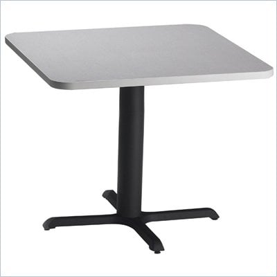 "Mayline Bistro 36"" Square Casual Dining Table"