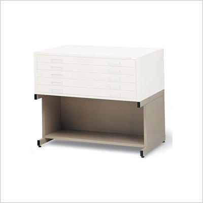 Mayline C-Files 1 Shelf High Metal Base for 30 x 42 Sheets