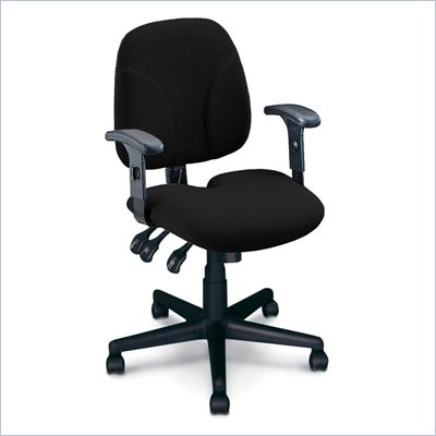 Mayline Comfort Multi-Function Task Chair with Tailborn Seat Cushion
