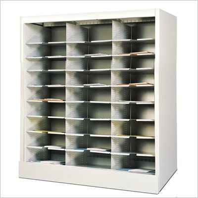 Mayline Kwik-File Storage Cabinet in Pebble Gray