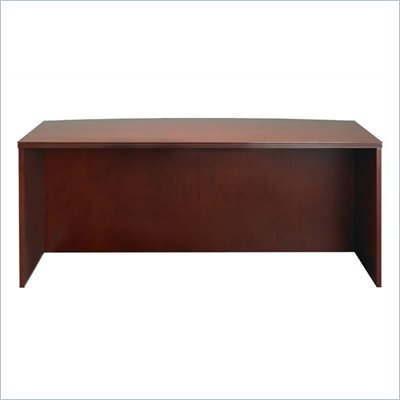 Mayline Luminary 72&quot; Straight Front Wood Credenza Desk