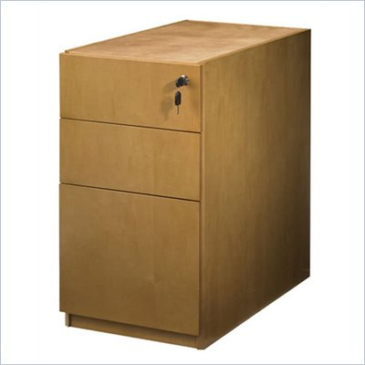 Mayline Luminary 3 Drawer Pedestal File for 30&quot; Desk