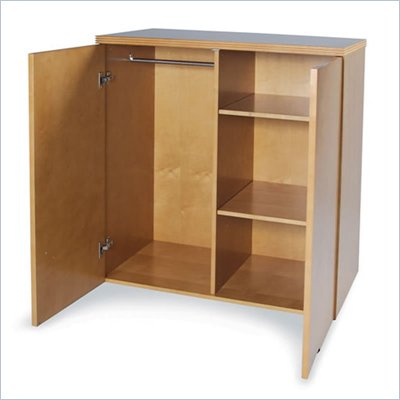 Mayline Luminary 2 Shelf Wardrobe