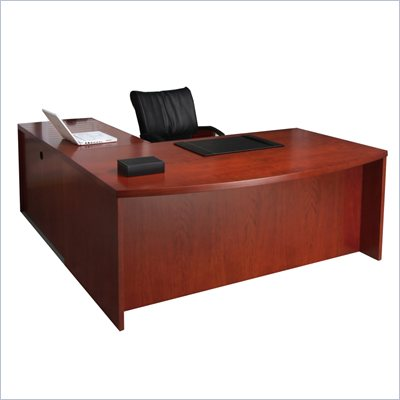Mayline Mira Desk, Return and Two (2) Box-Box-File Pedestals