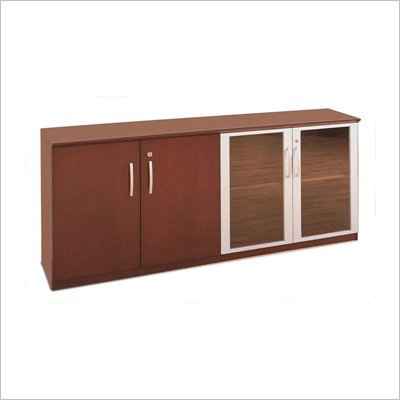 Mayline Napoli Low Wall Cabinet with Doors