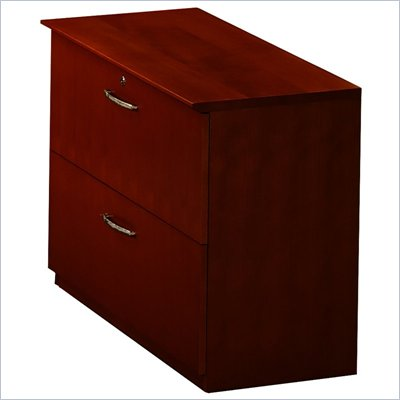 Mayline Napoli Collection 2 Drawer Lateral Wood File Storage Cabinet