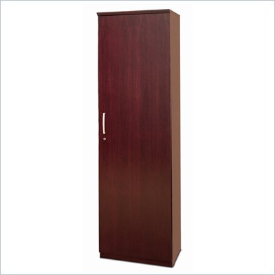 Mayline Napoli Wardrobe Cabinet with Hinges on Right
