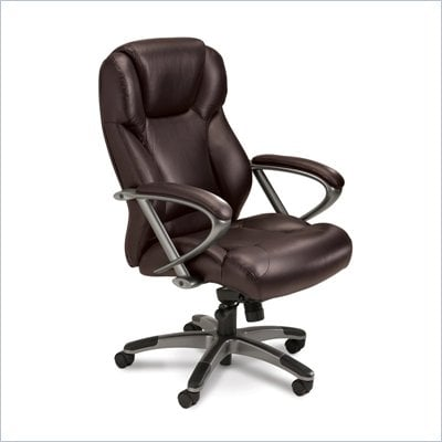 Mayline Utimo Executive HighBack Chair in Burgundy