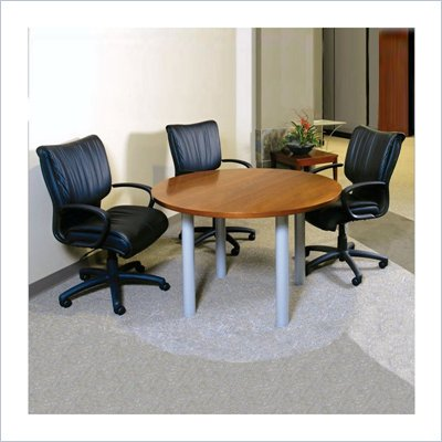 Mayline Eclipse 4' Round Conference Table with Traditional Legs