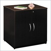 Bush Series C Wood Storage Cabinet in Mocha Cherry