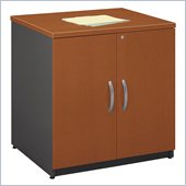 Bush Series C  Wood Storage Cabinet in Auburn Maple