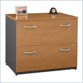 Bush Series C 2 Drawer Lateral Wood File Cabinet in Natural Cherry