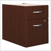 Bush Series C 2 Drawer Lateral File Wood Cabinet Pedestal in Mahogany