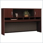 Bush Mahogany Series C - 71 inch Two Door Hutch