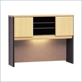 Bush Beech and Grey Advantage Series A 48 inch Hutch