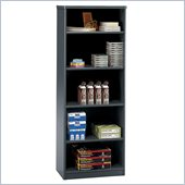 Bush Slate Advantage Series A 5 Shelf Bookcase