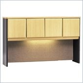 Bush Beech and Grey Advantage Series A 60 Hutch