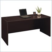Bush Series C  66 Wood Desk in Mocha Cherry