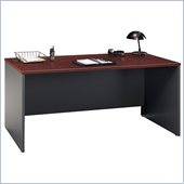 Bush 66 Series C Wood Desk in Hansen Cherry