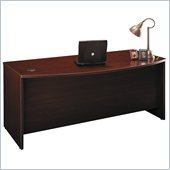 Bush Series C 71 Bow Front Desk in Mahogany