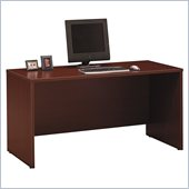 Bush C Series 60 Wood Credenza in Mahogany