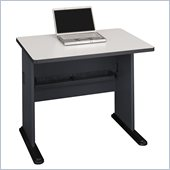 Bush Series A 36 Wood Computer Desk in Slate