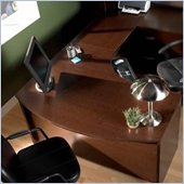 Bush Series C Mocha Cherry L-Shaped Desk